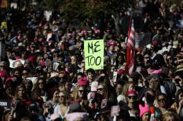 Image of Women in MeToo March