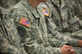 veterans in uniform
