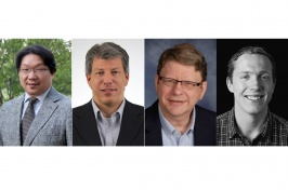 Headshots of new biotechnology faculty at UNH Manchester
