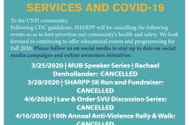 SHARPP Services Amid COVID-19