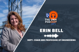 Erin Bell and podcast logo