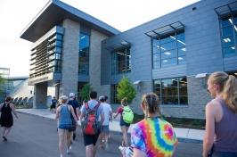 Hamel Recreation Center entrance