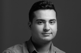 Hassan Essa '19, a recent graduate of UNH Manchester's politics and society program