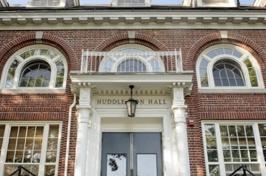 Entrance to Huddleston Hall