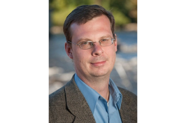 Christopher LeBlanc, associate professor of engineering technology at UNH Manchester