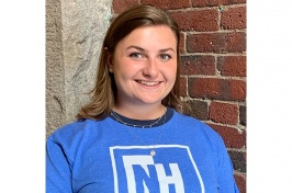 Meriah Metzger '20, politics and society major at UNH Manchester