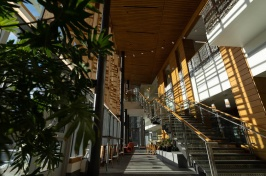 Atrium in Paul College