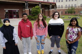 Portsmouth High students call for end of Columbus Day