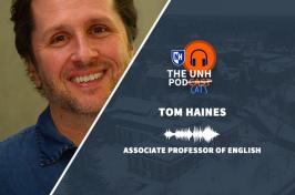 Journalism professor Tom Haines