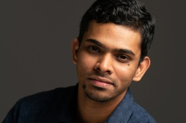 Surya Kranthi Siyadri '20G came from India to pursue his M.S. in Information Technology at UNH Manchester