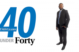 Carsey graduate Ali Sekou made the NH Union Leader's 2021 40 Under Forty list