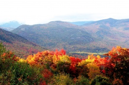 Image of the New Hampshire mountains
