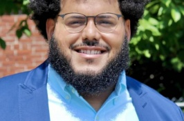 A photo of Andres Mejia, Carsey School graduate and NH Listens fellow