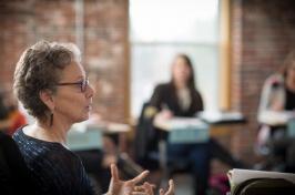 Barbara Jago, associate professor of communication arts