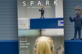 Cover of 2021 SPARK magazine