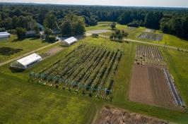UNH Woodman Horticultural Research Farm. Credit: Scott Ripley/UNH