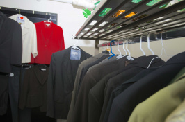 donated suits from career closet