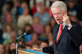 President Bill Clinton visits UNH