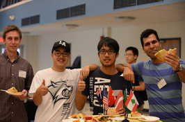 UNH students from around the globe