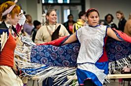Powwow participants
