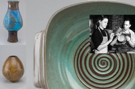 UNH Potters Ed and Mary Scheier