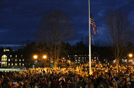 Vigil for Boston