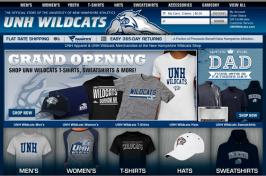 athletics shop web page