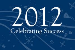 2012 celebrating success signage