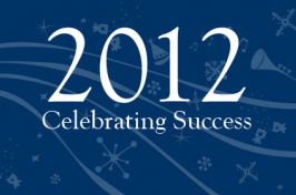 2012 celebrating success signage