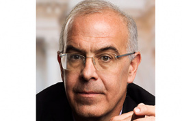Photo of journalist and political commentator David Brooks.