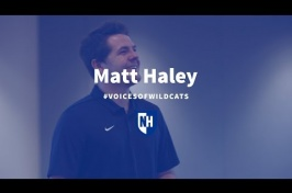 UNH Voices Of Wildcats Matt Haley '19