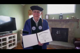 Meet UNH's 100-Year-Old Graduate