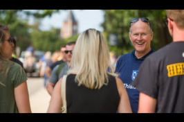 President Dean Welcomes Campus Community