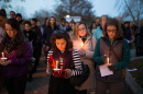 UNH students hold vigil for terrorist attack victims