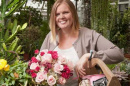 erica johnson with roses