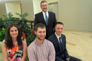 UNH student interns at Fidelity