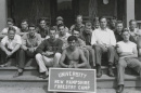 forestry camp participants, 1938
