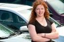 mary callaghan at car dealership