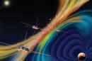 satelites in space
