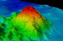 underwater mountain,