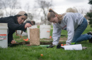 UNH archaeology students
