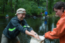 STEM Docents Training at Piscataquog River in Manchester