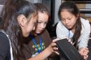 girls at engineering camp at UNH