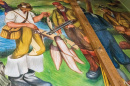Agriculture mural in Hamilton Smith Hall
