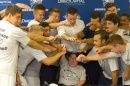 Members of the UNH soccer team