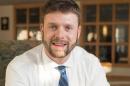 UNH graduate student Michael Verney