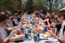 UNH senior class celebrates with a lobster bake