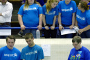 New Hampshire students at UNH for SeaPerch Competition