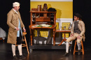 Actors in a play about the town of Stratham, NH