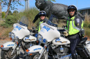 UNH police officers on campus